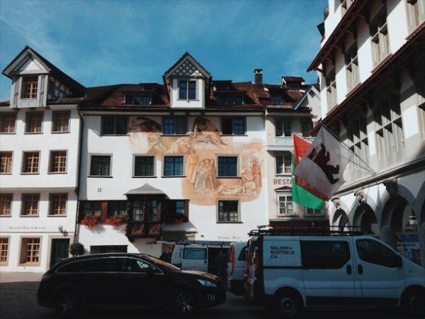 図書館は「魂の病院」 ザンクトガレン修道院付属図書館へ